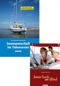 Palstek Seemannschaft am Tidenrevier und Immer hoch am Wind Bücher