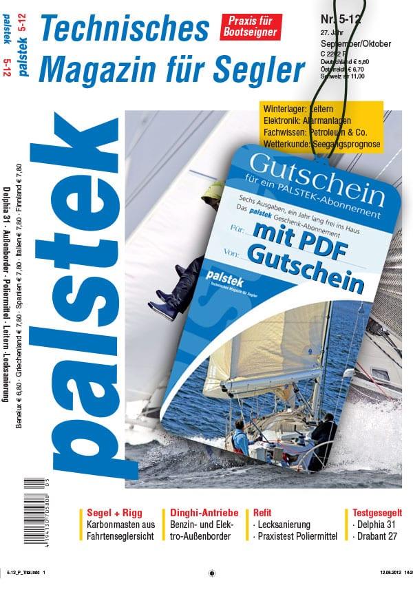 Palstek Abonnement Geschenk Gutschein mit Magazin