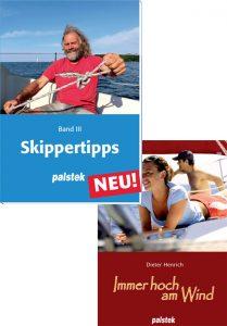 Palstek Skippertipps und Immer hoch am Wind Bücher
